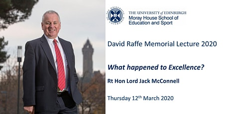 The David Raffe Memorial Lecture 2020 tickets