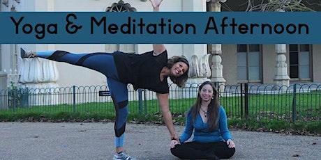 Yoga & Meditation Afternoon tickets