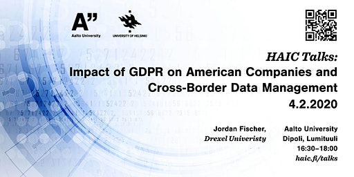 Impact of GDPR on American Companies and Cross-Border Data management