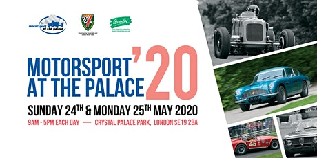 Motorsport at the Palace 2020 tickets