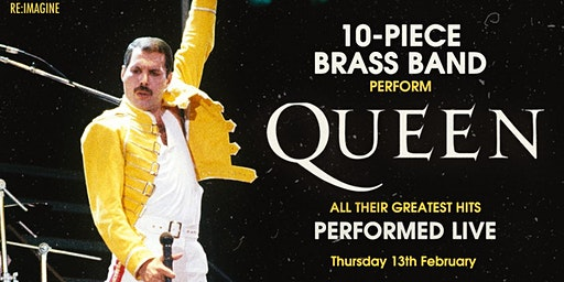 Queen's Greatest Hits Performed Live by a 10 Piece Brass Band