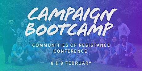 Communities of Resistance tickets