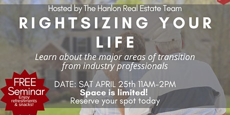 Rightsizing Your Life: A Downsizing Seminar tickets