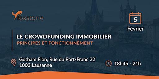 Event Lausanne - Le Crowdfunding Immobilier : Une Nouvelle Façon d'Investir
