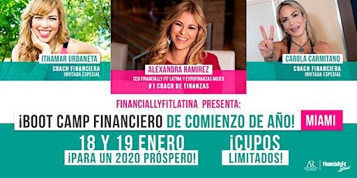 BOOT CAMP FINANCIERO + MAPA de tu RIQUEZA 2020! (Incluye Agenda + Almuerzo)