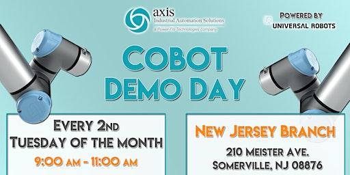 Axis NJ Collaborative Robot Demo Day - NJ Branch