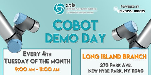 Axis NJ Collaborative Robot Demo Day - LI Branch