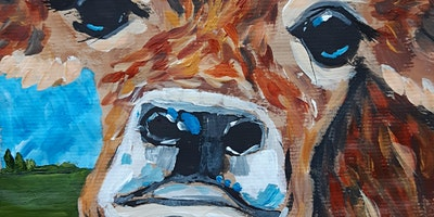 Paint a Cow in Acrylics with Celia Bennett and Winsor & Newton