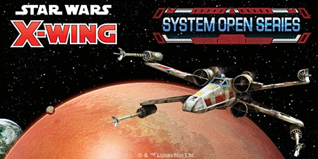System Open Star Wars X-wing France 2020 billets