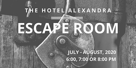 Escape Room: The Hotel Alexandra tickets