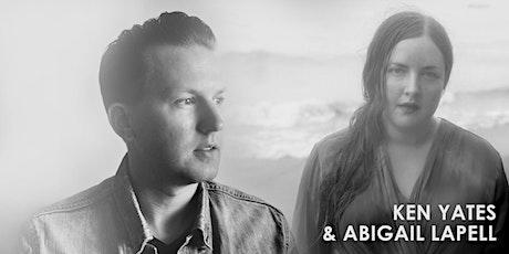 Ken Yates + Abigail Lapell tickets