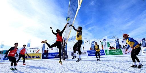 Snow Volleyball Tournament