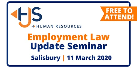 FREE Employment Law Update Seminar from HJS Human Resources in Salisbury tickets