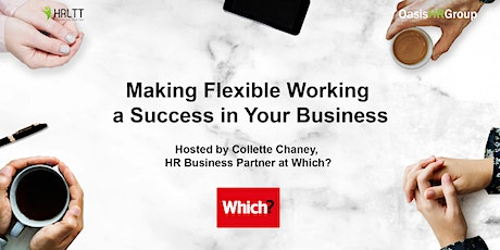 HRLTT - Making Flexible Working a Success in Your Business tickets
