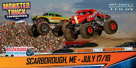 Monster Truck Throwdown - Scarborough, ME - July 17/18, 2020 tickets