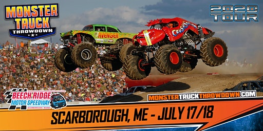 Monster Truck Throwdown - Scarborough, ME - July 17/18, 2020