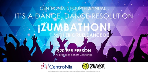 CentroNía's It's A Dance, Dance Resolution Zumbathon