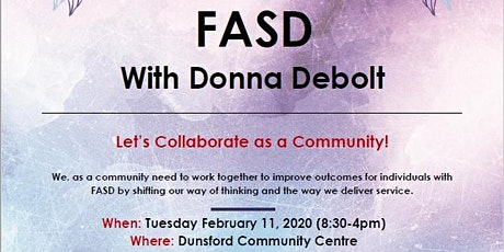 FASD with Donna Debolt tickets