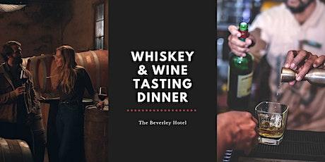 Whiskey + Wine Tasting Dinner tickets