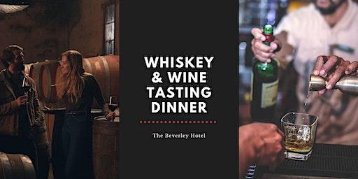 Whiskey + Wine Tasting Dinner