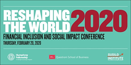 Reshaping the World 2020: Financial Inclusion & Social Impact Conference tickets