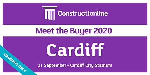 Cardiff Constructionline Meet the Buyer 2020