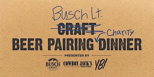 Busch Light Charity Beer Dinner