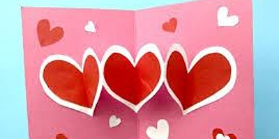 Valentines Day Card @ Hale End Library