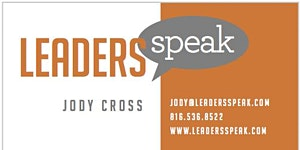 Leaders Speak Kansas City - Public Speaking Workshop...