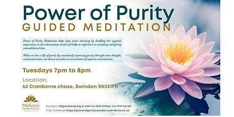 Power of Purity - Guided Meditation (Swindon) tickets