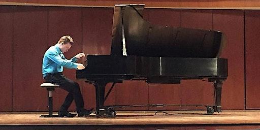 Piano recital with Cahal Masterson