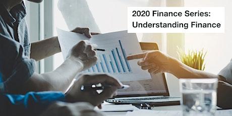 2020 Finance Series: Understanding Finance tickets