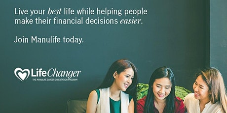 Manulife Online Financial Advisor Career Orientation tickets