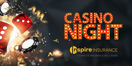 Inspire Insurance Casino Night tickets