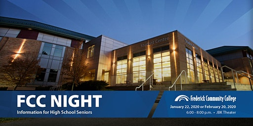 2020 FCC Night for High School Seniors