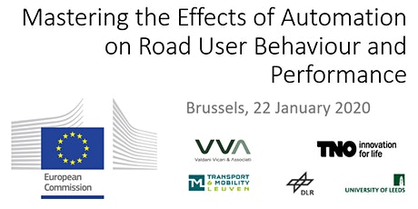 Mastering the Effects of Automation on Road User Behaviour and Performance tickets