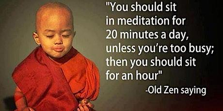 Introduction to Zen Meditation Workshop tickets