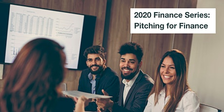 2020 Finance Series: Pitching for Finance tickets