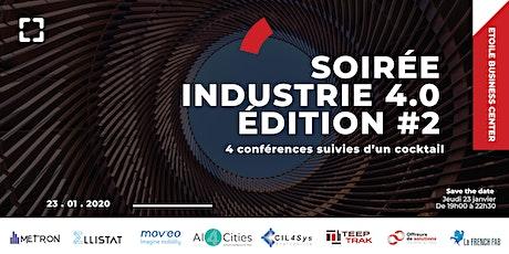 Soirée conférences et cocktail sur l'industrie 4.0 tickets