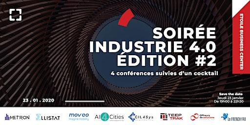 Soirée conférences et cocktail sur l'industrie 4.0