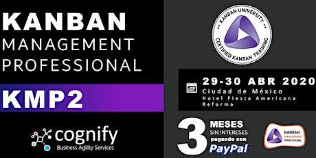 Kanban Management Professional - KMP2 boletos