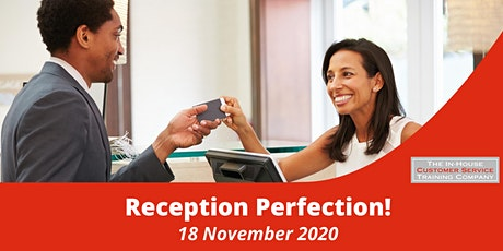 Reception perfection! half-day (18 November 2020) tickets