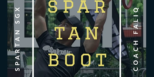 SPARTAN BOOTCAMP with SGX Coach Faliq