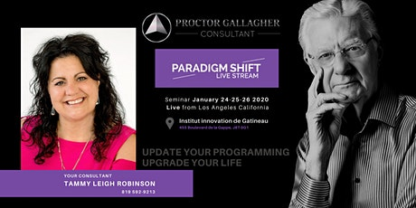 Bob Proctor Paradygm shift tickets