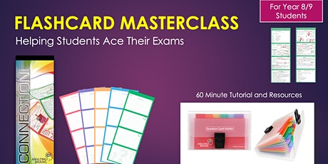 Revision Masterclass - Helping Students Ace Their Exams (Year 8/9 Students) tickets