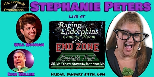 """Stand-Up Comedy Show with """"The Diva"""" Stephanie Peters, featuring Will Noonan"""