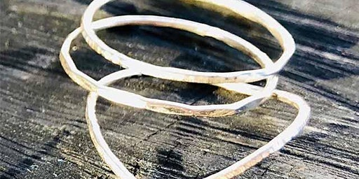 Jewellery Making – Silver Stacking Rings