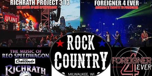 Foreigner 4 Ever & Richrath Project 3:13 - Winter Tour at Rock Country!
