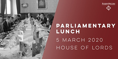 RBCC Parliamentary Lunch 2020 tickets