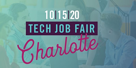 NC TECH's Job Fair in Charlotte (October 2020) tickets